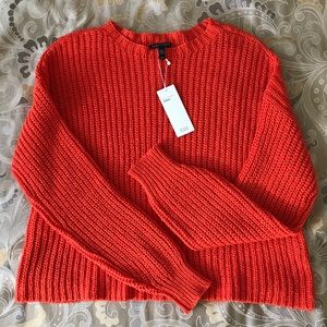 Eileen Fisher organic cotton sweater.